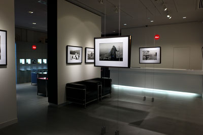 The Leica store also has an in-store gallery space, and its first exhibition features the work of photographer Yang Yan Kang. His black and white photos focus on the spiritual, and are well worth a look.