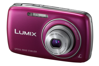 The Panasonic LUMIX DMC-S3.