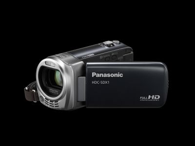 The Panasonic HDC-SDX1 is the world's lightest Full HD camcorder with the Advanced Optical Technology in a compact body. It weighs only 185g and features the new HYBRID O.I.S. system.