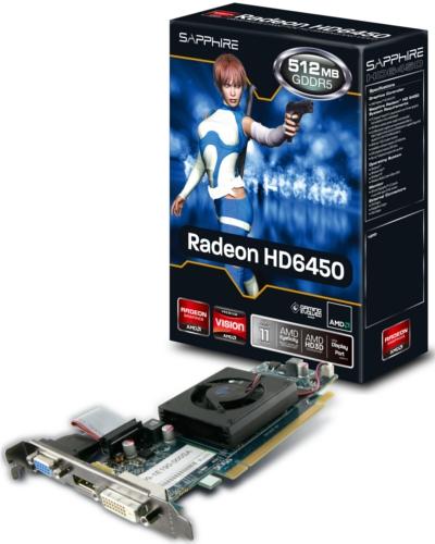 HD 6450 512MB GDDR5