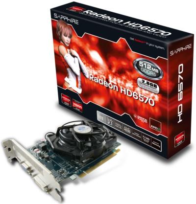 HD 6570 512MB GDDR5