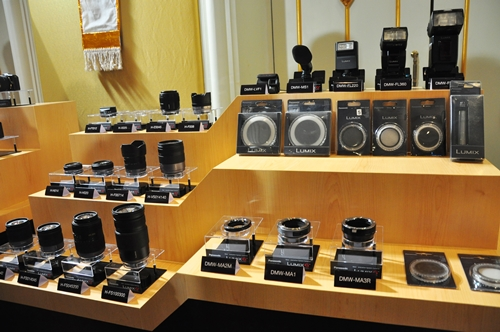 A comfortable library of lens and accessory choices is integral to a consumer's purchase decision - Panasonic knows this and has the backing of 12 lenses (and more to come) for its relatively new MFT system.
