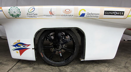 This solar car is brought to you by…