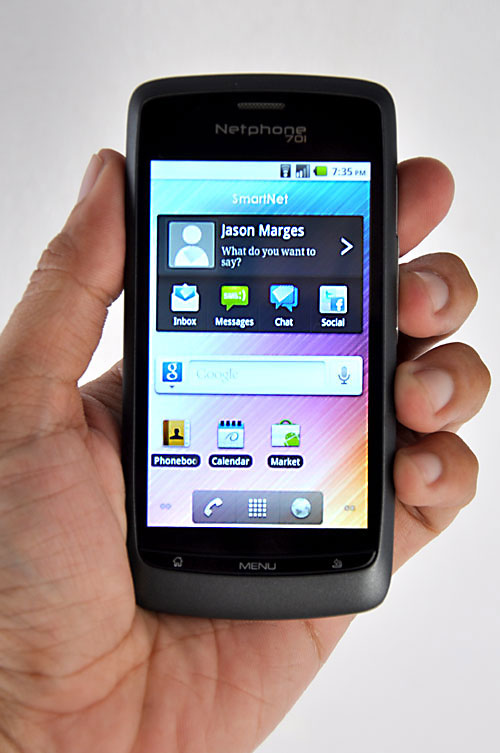 netphone 701 themes