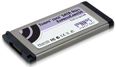 Tempo Edge SATA 6Gbps ExpressCard/34