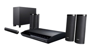 3D Blu-ray Home Theatre System BDV-E380