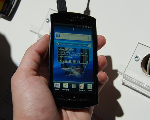 The Xperia Neo's more modest 3.7-inch display is a better fit for those who value compactness over features.