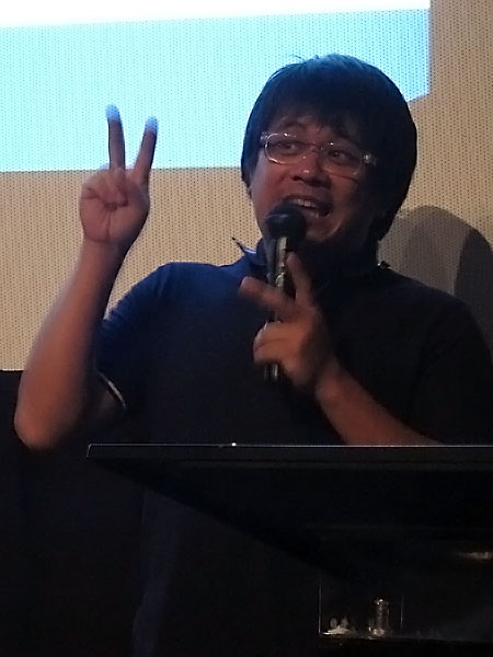 Local indie film and music video director RA Rivera also graced the event with his presence, imparting even more advice and anecdotes to the Digital Showdown finalists in his typical superbly amusing way.