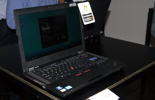 Buyers of the ThinkPad T420 have the pleasure of choosing between SSD or HDD solutions. Combined with Lenovo's RapidDrive technology, users can anticipate speedier boot up sequences as well as more responsive applications. The T420 is currently available for retail, and is priced at S$2,200 onwards.