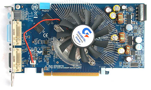 Gigabyte's Zalman assisted GeForce 7900 GT.