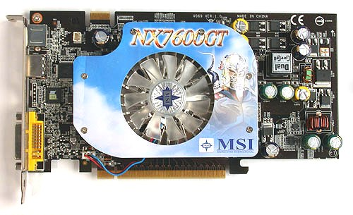 MSI NX 7600 GT WINDOWS 10 DOWNLOAD DRIVER