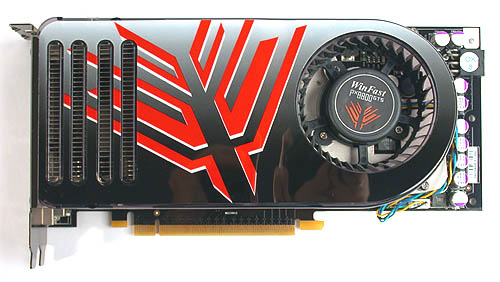 Besides Leadtek's own decal, this is like any other GeForce 8800 GTS.
