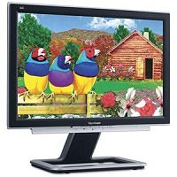 ViewSonic VX2025WM 20-inch widescreen LCD monitor