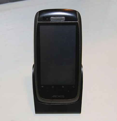 This was just labeled as Archos WiFi smartphone, but we couldn't find anymore information about it.
