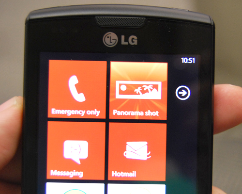 Vendor specific hubs, such as LG's Panorama shot, will be preloaded as a Hub on their Windows Phone 7 devices. These apps will also be available for download in the Marketplace.