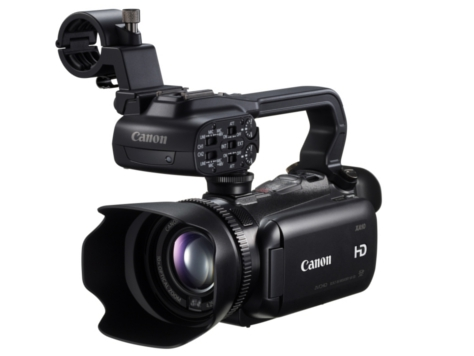 Canon's new, nifty portable professional camcorder