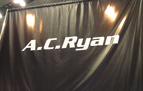 If a media player is what you need, AC Ryan is one booth you must check out.