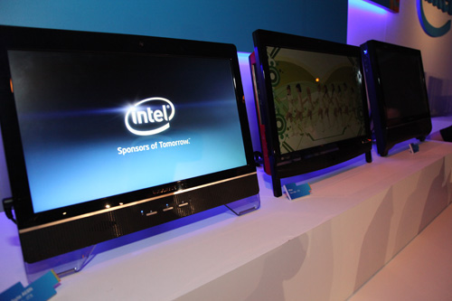 Examples of All-in-One desktop systems integrated using the new Thin Mini-ITX board.