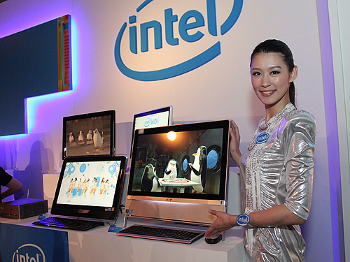 Intel expects more innovative AIO systems to dominate the desktop market as such highly integrated systems gain user acceptance. Performance of AIOs today is equivalent to most desktop systems thanks to the powerful Sandy Bridge processor .