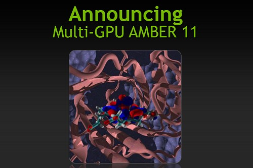 Amber 11, a molecular simulations package, now supports multi-GPUs and is of course CUDA enhanced as well.
