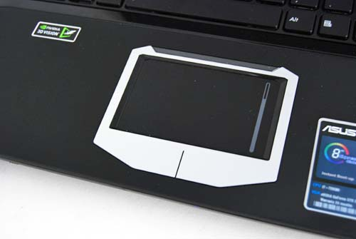 The trackpad's pretty decent too, but you won't be using this because you'll be using the included Razer Abyssus mouse.
