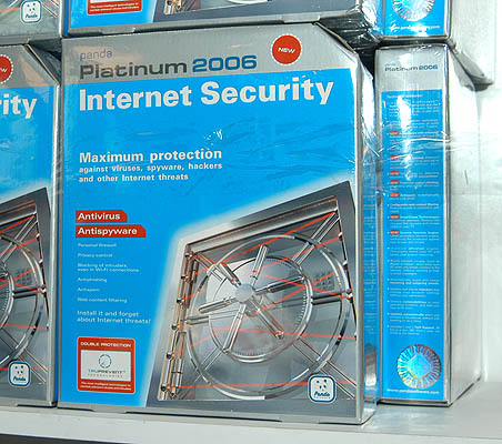 Protect your PC from viruses and spyware with Panda Internet Security Platinum 2006 which is available at ATF's booth.