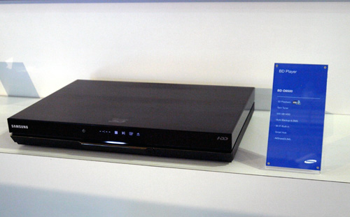 Here is one Blu-ray player to rule them all. The BD-8900A hides a 1TB hard drive under its cold black shell which supposedly holds up to 240 hours worth of HD content. It is friendly with your 3D TV as well with its 3D playback features. Want one?