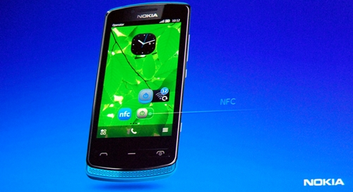 First seen on the Nokia N9, all three new Symbian Belle phones have support for NFC. It allows you to share pictures and pair with compatible accessories easily with a single tap.