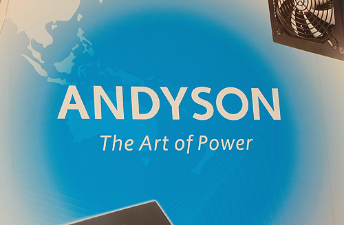 We check out power supply specialists Andyson to see what's brewing.