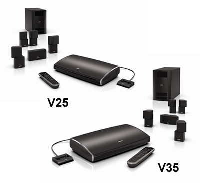bose v35. bose introduces lifestyle v-class surround sound systems v35 t