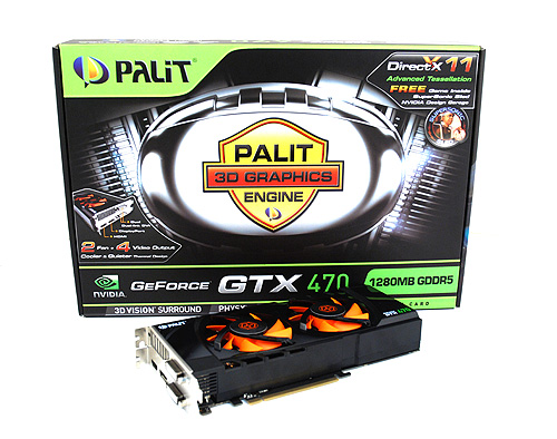 An increasing number of custom design GeForce GTX 470 cards are making their appearance in the market. This is Palit's take.