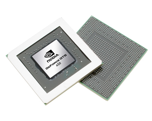 The GeForce GTS 450 will employ the use of the all-new GF106 chip, which promises better power efficiency and lower running temperatures.