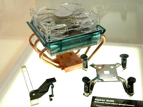 New Coolers from Cooler Master : CeBIT Hannover 2006 (Part 3