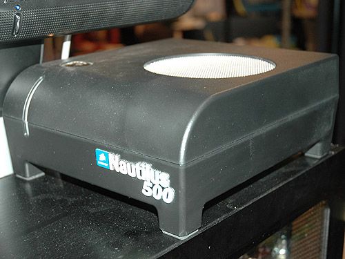 Corsair also showed us their new Nautilus 500 water-cooling system that uses an external radiator box (as shown).