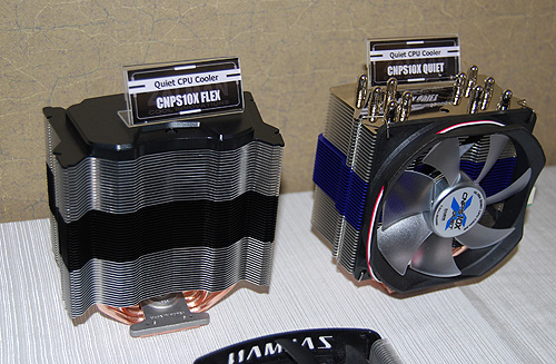 For those who intend to take their CPUs to the next level, a competent aftermarket CPU cooler is a must and here are Zalman's offerings.