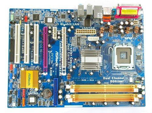 The ASRock ConRoeXFire-eSATA2 motherboard.