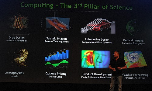With the first two pillars of science being theory and experimentation, computing is fast becoming the third pillar of science where the GPU is making big inroads to finding solutions for problems.