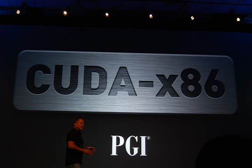 PGI's CUDA C compiler for x86 platforms will be available commercially in a couple of months and this is really big news.