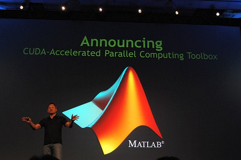 GPU computing for anyone dealing with math is now unleashed with MATLAB's availability of a CUDA-accelerated parallel computing toolbox.