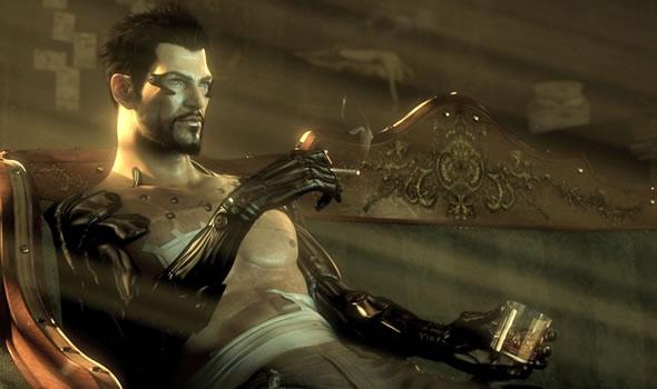 Meet Adam Jensen. He's the protagonist of Deus Ex: Human Revolution. He's also a dead man brought back to life.