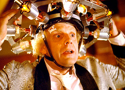 Doc Emmett Brown could have been on to something with his version of human brain reader.