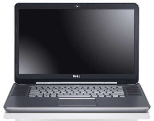 The Dell XPS 15z's good looks stem from its clean, no nonsense design.