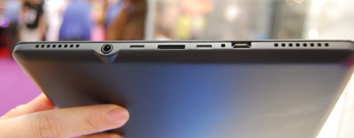 The extremely thin (less than 1cm) ASUS ebook reader.