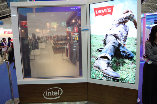 An interactive digital signage application for the retail industry. It utilizes an Intel Core i7 processor to give shoppers a personalized experience.