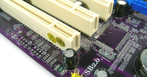 Spacing was reserved for FireWire components, but the board does not come with it.