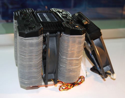 A prototype CPU cooler from Evercool
