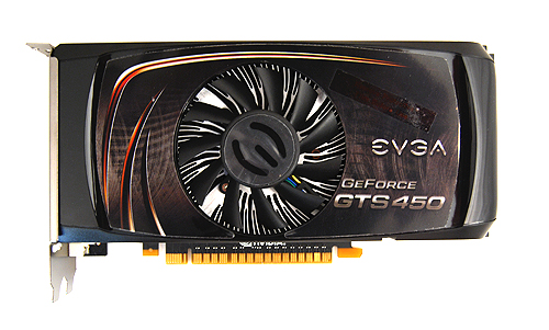 Don't let its looks fool you, the EVGA GeForce GTS 450 FTW sports one of the highest clock speeds of any GeForce GTS 450 card.