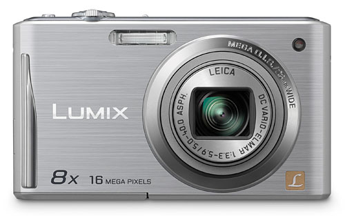 The Lumix DMC-FH25 sports a 16-megapixel sensor and a 8x optical zoom lens.