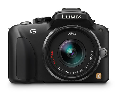 The Lumix DMC-G3 uses a new 16.6-megapixel sensor.