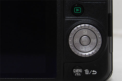 To toggle between aperture and shutter speed control in Manual mode, you tap up on the d-pad in the Exposure direction.